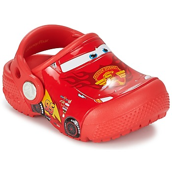 faf3d2bf36f Chaussures Garçon Sabots Crocs CROCS FUNLAB LIGHT CARS 3 MOVIE CLOG Rouge