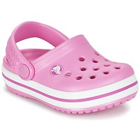 Chaussures Fille Sabots Crocs Crocband Clog Kids Rose