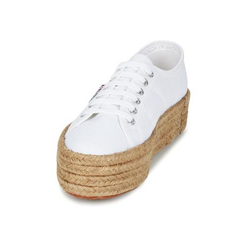 Baskets Cotrope Basses Femme Superga Blanc W 2790 8Nnv0wm