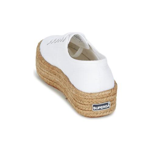 Baskets Basses Superga Blanc Cotrope Femme 2790 W OZwN0knP8X