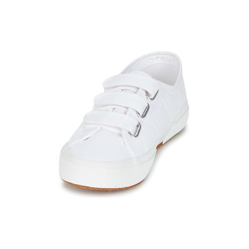 Baskets Femme Basses 2750 U Superga Cot3 Vel Blanc JcTK3lF1