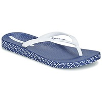 Chaussures Femme Tongs Ipanema ANATOMIC SOFT Blanc / Bleu
