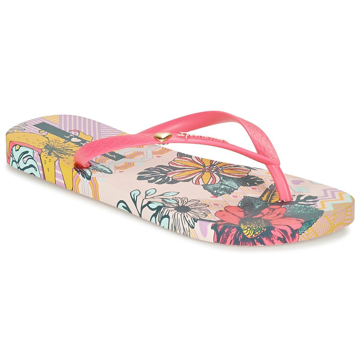 Ipanema I LOVE TRIBAL Rose - Chaussures Tongs Femme