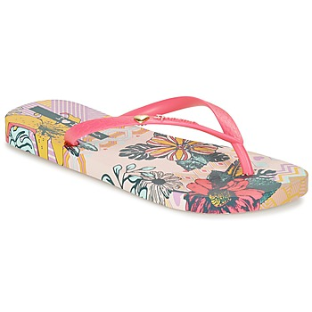 Chaussures Femme Tongs Ipanema I LOVE TRIBAL Rose