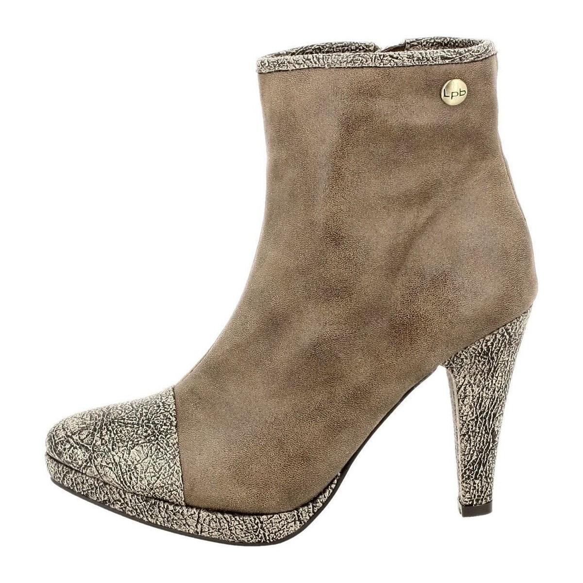 Les p 39 tites bombes aude beige chaussures bottines femme for Portefeuille les p tites bombes