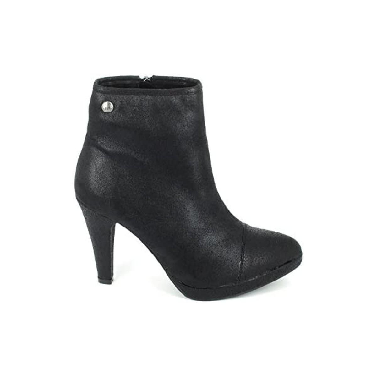 Les p 39 tites bombes aude noir chaussures bottines femme for Portefeuille les p tites bombes