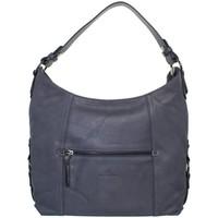 Sacs Femme Sacs porté épaule Hexagona Sac  en cuir porté épaule ref_xga39815-bleu denim Bleu