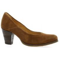 Chaussures Femme Escarpins Minka Escarpins cuir velours Cognac