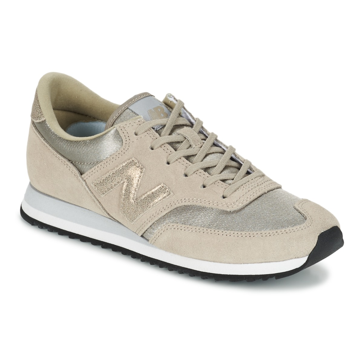 new balance beige et doree