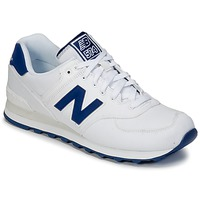 Chaussures Baskets basses New Balance ML574 Blanc / Bleu