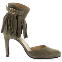 Chaussures Femme Escarpins Vidi Studio Escarpins cuir velours Taupe
