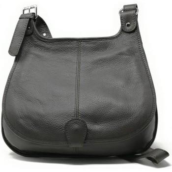 Sacs Femme Sacs porté épaule Oh My Bag Sac à Main CUIR femme - Modèle PETRA (gd modèle) taupe foncé MARRON FONCE