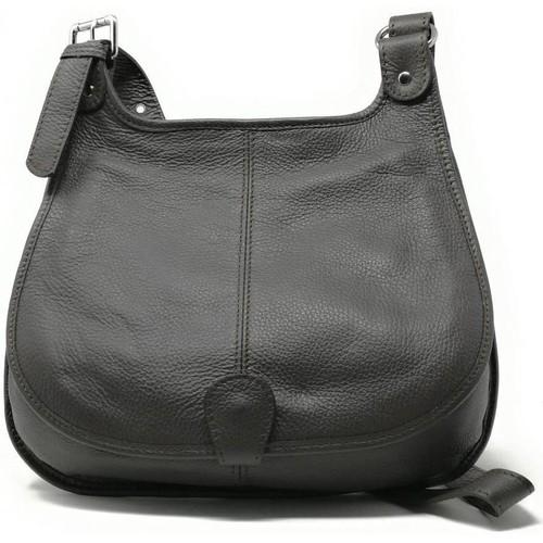 Sacs Femme Sacs porté épaule Oh My Bag Sac à Main CUIR femme - Modèle PETRA (gd modèle) marron foncé MARRON FONCE