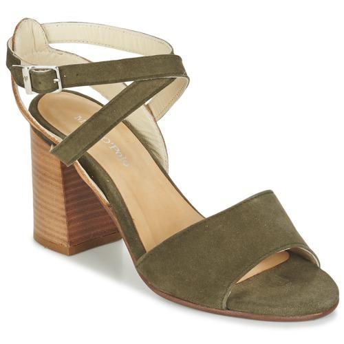 Chaussures Femme Sandales et Nu-pieds Marc O'Polo MODERANA Kaki