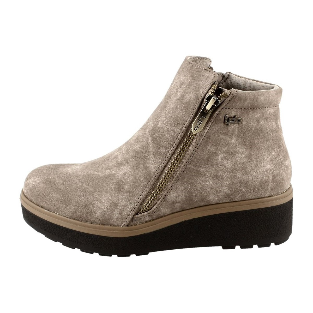 Les p 39 tites bombes buddy beige chaussures low boots for Portefeuille les p tites bombes