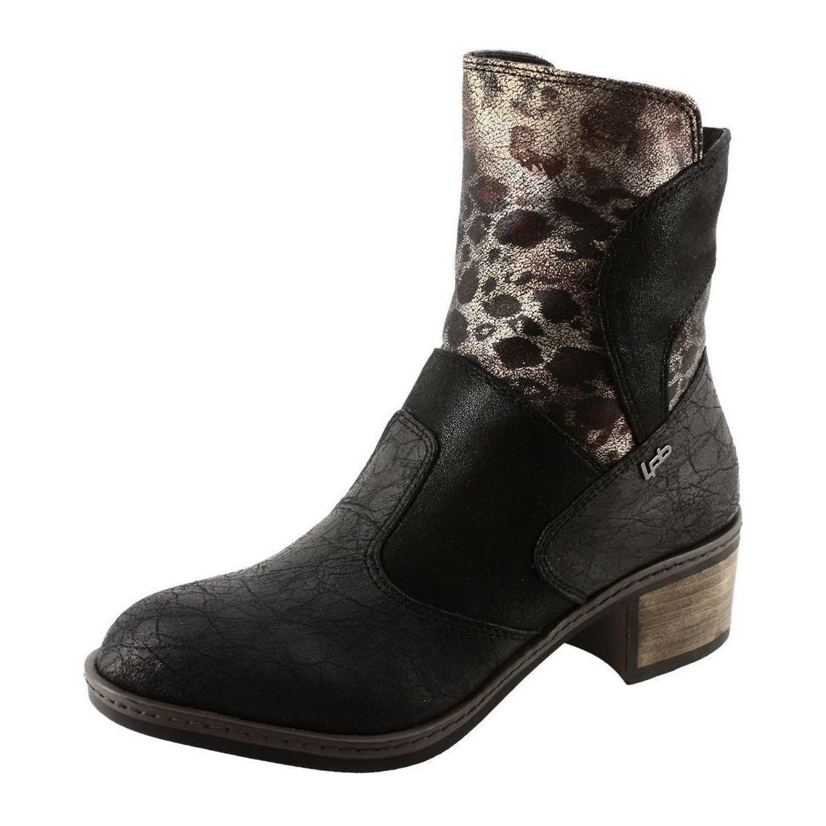 Les p 39 tites bombes barbara noir chaussures bottines for Portefeuille les p tites bombes