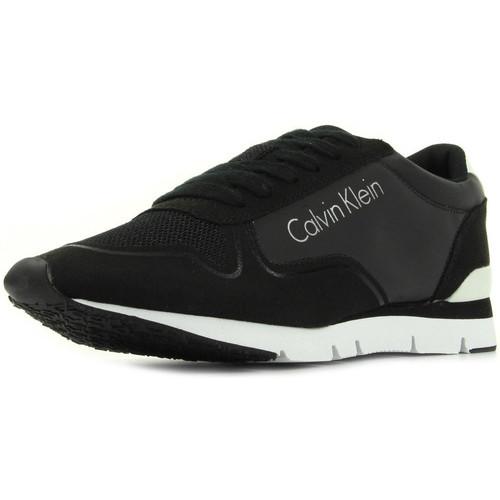 Chaussures Femme Baskets basses Calvin Klein Jeans Tori Reflex Nylon Microfibre noir