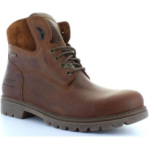 Chaussures Homme Bottines Panama Jack AMUR GTX C8 Marrón