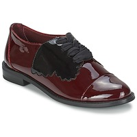 Chaussures Femme Derbies F-Troupe Butterfly Shoe BURGUNDY