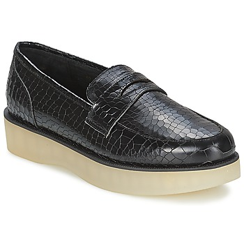 Chaussures Femme Mocassins F-Troupe Penny Loafer BLACK