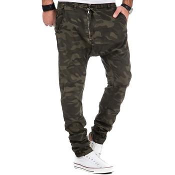 Vêtements Homme Jeans Justing Sarouel jean homme vert Sarouel 8262 vert Vert