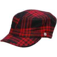 Casquettes Coal Casquette Militaire  Kilby Plaid Stretch Red