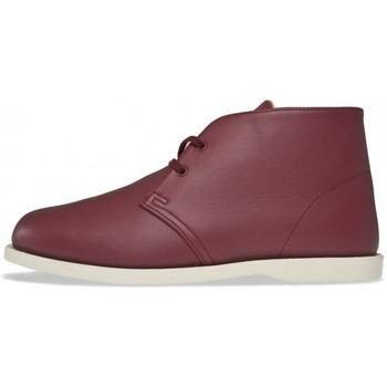 Chaussures Homme Boots Alife Chuck Boat Maroon Bordeaux