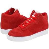 Chaussures Homme Baskets basses Alife Everybody High Luxe Suede Red Rouge