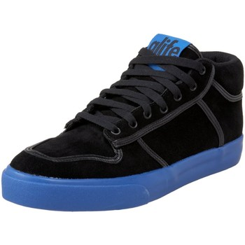 Chaussures Homme Baskets montantes Alife Everybody Mid Black Teal Noir