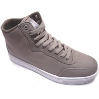 Chaussures Homme Baskets montantes Alife Everybody Quilit Canvas Grey Gris