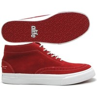 Chaussures Homme Baskets montantes Alife Sneakers Homme  Public Estate Mid Red Rouge