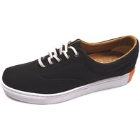 Chaussures Homme Baskets basses Alife Public Naval Canvas Black Noir