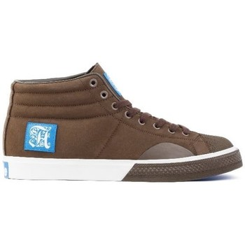 Chaussures Homme Baskets montantes Alife Shell Toe Brown Marron
