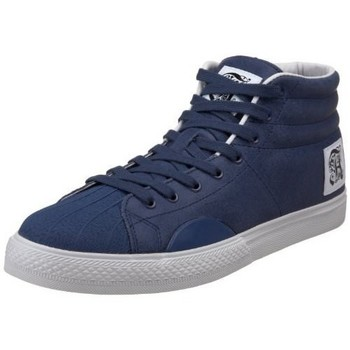 Baskets montantes Alife Shell Toe Suede Navy