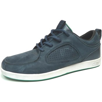 Chaussures Homme Baskets basses Claé Baskets Homme  Parker Navy Suede Bleu marine