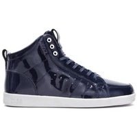 Chaussures Homme Baskets montantes Claé Baskets Homme  Russell Deep Navy Patent Bleu marine