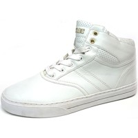 Chaussures Homme Baskets montantes Claé Thompson White Grass Blanc