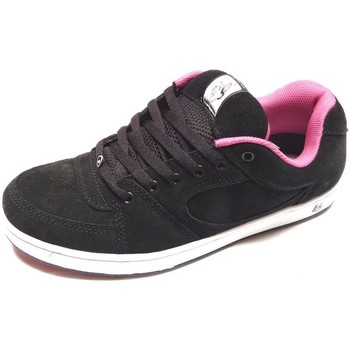 Baskets basses Es Accel TT Black White Pink