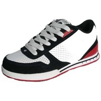 Chaussures Homme Baskets basses Es Baskets Homme  Contract Navy White Red Bleu marine