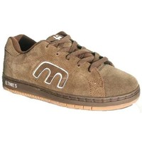 Chaussures Garçon Baskets basses Etnies Callicut Brown Tan Marron