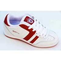 Chaussures Femme Baskets basses Osiris 247 White Red Blanc