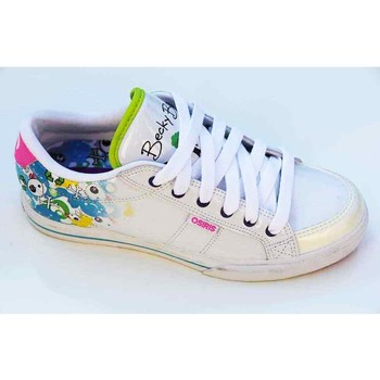 Chaussures Femme Baskets basses Osiris Baskets Femme Barron White Multi Bb Blanc