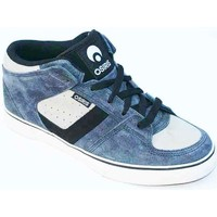 Chaussures Homme Baskets montantes Osiris Chino Mid Blue Grey Black Bleu