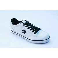 Chaussures Homme Baskets basses Osiris Baskets Homme Clip White Black Perf Blanc