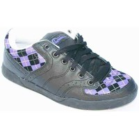 Chaussures Homme Baskets basses Osiris Baskets Homme Forte Black Purple White Noir