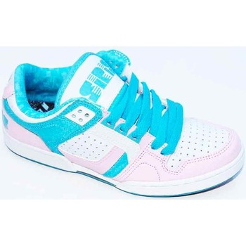 Chaussures Femme Baskets basses Osiris Harlem White Pink Vice Blanc