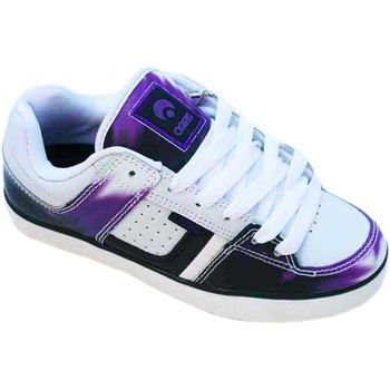 Chaussures Femme Baskets basses Osiris Baskets Femme Sp skate shoes Libra White Purple Black Unique ! Blanc