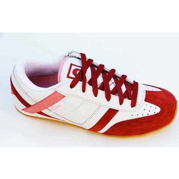 Chaussures Femme Baskets basses Osiris Ocean Drive White Red Pink Blanc