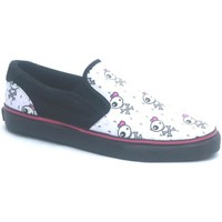 Chaussures Femme Slips on Osiris Baskets Femme Scoop Girls Black/Becky Bones Noir