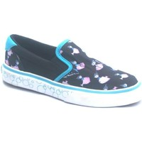 Chaussures Garçon Slips on Osiris Scoop Girls Kids Black/Blue/Fishin Noir
